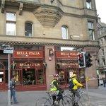 Любимый итальнский ресторанчик в центре города.