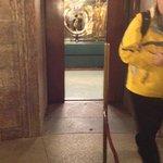 View into elevator