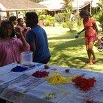 Celebrating Holi - Colour Festival
