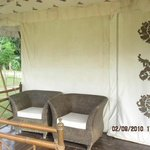 Tent Room Entrance
