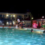 Pool party after the debut celebration
