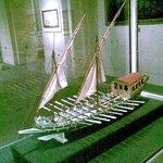 Grand Master's barge (model)