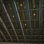 City Hall in a sunny day... ceiling... each room has a different pattern