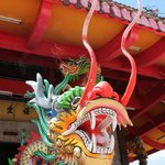 The dragon protecting the entrance