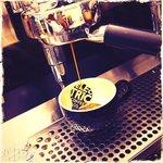 A delicious single estate espresso shot