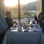 Breakfast in the beautiful sun