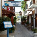 Entrence to Zinbad Hotel