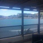 Foto desde la suite al puerto