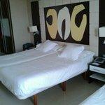 cama de gran tamaño
