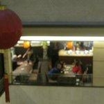ホテル2階のレストラン