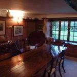 Beautifully rustic dining room