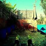 Relax nella terrazza dell'ultimo piano