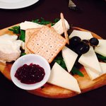 Wonderful cheese platter