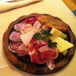 formaggi e salumi misti