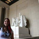 Me inside The Washington Monument.
