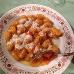 Gnocchi di zucca e peperoni
