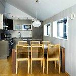 Apartment Küche und Essbereich