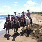 Horseback riding in St. Kitts with Pereira Tours