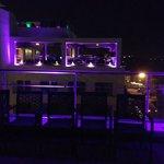 Roof top restaurant view