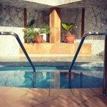 Dip pool in gardens