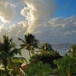 Looking towards Tortola from room balcony