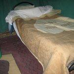 il letto pronto per la notte