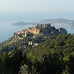 Magnifique panorama sur Eze et le Cap Ferrat