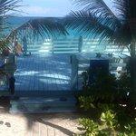 Beach platform