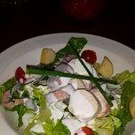 Ceasar salad for starter