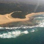 Der Strand mit den Dünen