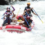 Rafting the Sarapique.