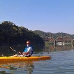 Ken, first time kayaking