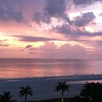 Just one of the beautiful sunsets we saw on Marco Island