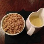 Crumble but Nowhere to put the Custard!..