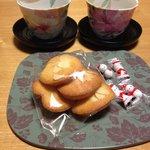 奥様手作りの焼き菓子♪美味しかった♪