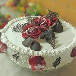 Our home made cake