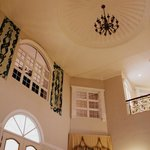 High ceilings of the mansion