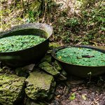 Random cauldrons on Loterie hiking trails