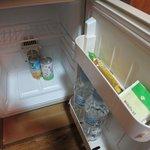 充実した冷蔵庫の中身
