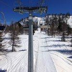 lovely ski area