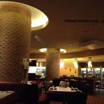 Rene Bistrot (restaurant attached to Renaissance Arts Hotel):  Nice ambiance, slow service, ok f