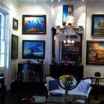 Salon and art gallery