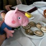 las ostras con limon se dejaban comer