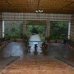 lobby of the resort