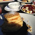 Lemon-ricotta pancakes - best pancakes ever