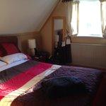 Comfortable bedroom in room 4. It was very quiet & we slept well