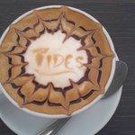 Tides Bistro at Oatlands, Cappuccino!