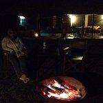 After Sundowner camp fire