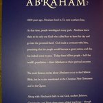 Who is Abraham poster