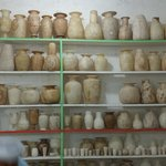 Alabaster pots/vases